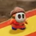 A Donguri Heyho in Yoshi's Crafted World