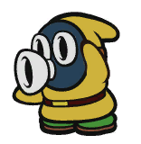 DJ Snifit in Paper Mario: The Origami King