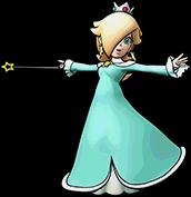 Sprite of Super Rosalina, from Puzzle & Dragons: Super Mario Bros. Edition.