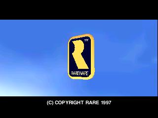The Rareware logo on start-up of Diddy Kong Racing.