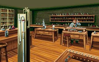 Thomas Edison in the PC release of Mario's Time Machine