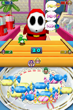 4-player mode for Sweet Sleuth in Mario Party DS