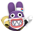Icon of Dr. Nabbit from Dr. Mario World