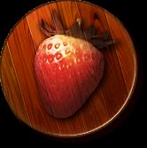 The Strawberry Kingdom's icon from Donkey Kong Jungle Beat