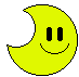 A design of a 3-Up Moon from Mario Family.