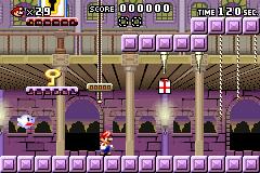 Level 4-4 in Mario vs. Donkey Kong