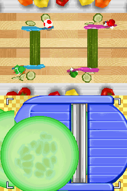 2 vs. 2 mode for Cucumberjacks in Mario Party DS