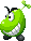 Sprite of a Beanie from Mario & Luigi: Superstar Saga + Bowser's Minions.