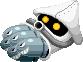 Sprite of a Mecha-Blooper from Mario & Luigi: Superstar Saga + Bowser's Minions.