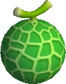 Sprite of a Tasty Melon from Donkey Kong Barrel Blast