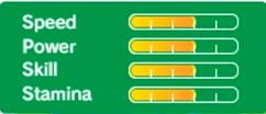 Mario's stats in Rio 2016 3DS.