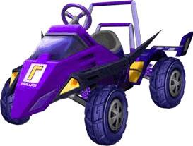 Waluigi Racer artwork.