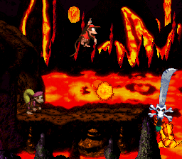 Kleever's Kiln from Donkey Kong Country 2: Diddy's Kong Quest