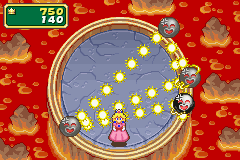This is a screenshot of the mini-game, Amplified.