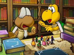 Koopa and Koopa Krag in Mario Party DS