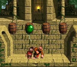 The third Bonus Level in Millstone Mayhem from Donkey Kong Country