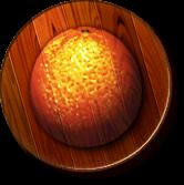 The Orange Kingdom's icon from Donkey Kong Jungle Beat
