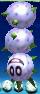 A white Pokey from Yoshi's New Island