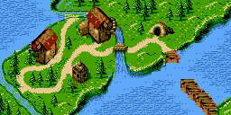 Cape Codswallop, the first world in Donkey Kong GB: Dinky Kong & Dixie Kong.