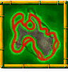 Meandering Mount course icon from Diddy Kong Racing DS.