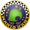 Crossing Cup icon, from Mario Kart 8.