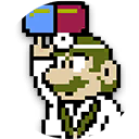 Icon of 8-Bit Dr. Mario from Dr. Mario World