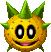 Big Pokey's head sprite from Mario & Luigi: Paper Jam.