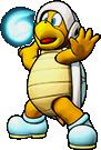 Sprite of Ice Bro's team image, from Puzzle & Dragons: Super Mario Bros. Edition.