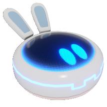 Beep-0 icon from Mario + Rabbids Kingdom Battle