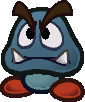 A Gloomba from Paper Mario: The Thousand-Year Door.
