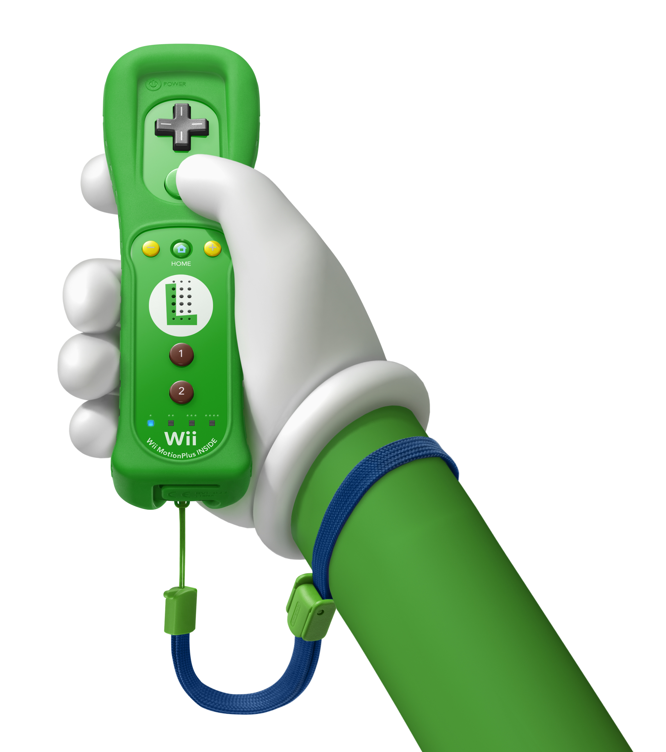 Luigi Wiimote.jpg