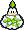 A Lakipea's overworld sprite from Mario & Luigi: Superstar Saga.
