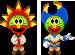 Sprite of the Firebrand and Thunderhand from Mario & Luigi: Superstar Saga + Bowser's Minions