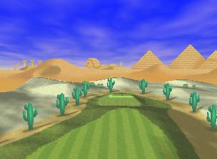Shy Guy Desert from Mario Golf
