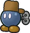 A Bob-omb resident of Fahr Outpost that appears in Paper Mario: The Thousand-Year Door.