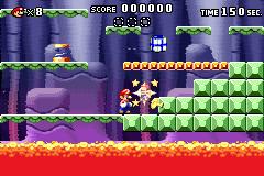 Level 3-5+ of Mario vs. Donkey Kong