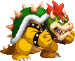 Bowser with the Fury status from Mario & Luigi: Bowser's Inside Story + Bowser Jr.'s Journey.