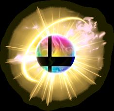 Fake Smash Ball artwork for Super Smash Bros. Ultimate
