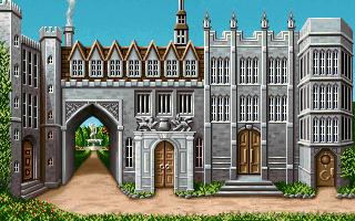 Cambridge University in the PC release of Mario's Time Machine