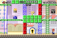 Level 1-2 in Mario vs. Donkey Kong
