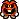 A Red Virus's overworld sprite from Mario & Luigi: Superstar Saga.