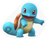 A Sticker of a Squirtle.