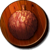 The Lychee Kingdom's icon from Donkey Kong Jungle Beat