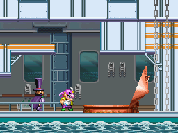 Wario and Count Cannoli in the second episode of Wario: Master of Disguise.