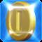 A Frozen Coin in Super Mario Maker 2