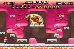Level 3-DK in Mario vs. Donkey Kong