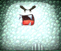 A Caged Ghost from Yoshi's New Island