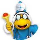 Icon of Dr. Kamek from Dr. Mario World