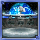 Lunar Outpost arena from Mario Party 5