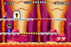 Level 3-6 in Mario vs. Donkey Kong